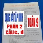 Dạng Bài Tập Hình Trong Đề Thi Vào 10 – Phần 2