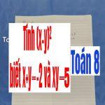 Luyện tập hằng đẳng thức 1;2;3 . Tính (x-y)² biết x+y =-2 và xy=5