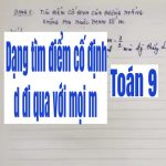 Các dạng bài tập về hàm số y=ax+b